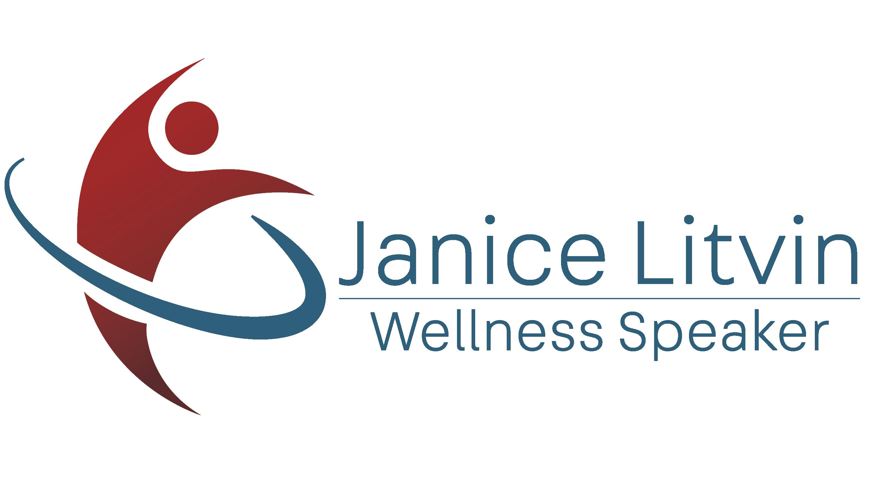 Janice Litvin Wellness Speaker Logo
